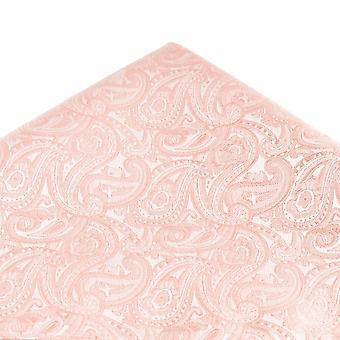 Δεσμοί Πλανήτης Dusky Ροζ Paisley Μοτίβο Τσέπη Τετράγωνο Μαντήλι