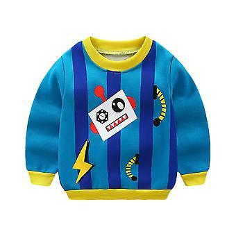 Cartoon Sweatshirt met lange mouwen voor baby /