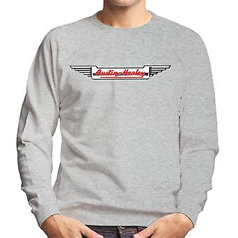 Austin Healey Logo British Motor Heritage Men's Sweatshirt