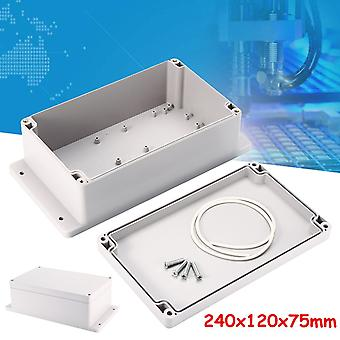 240x120x75mm Abs Waterproof Enclosure Box For Electronic Project, Instrument