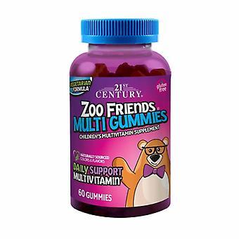 21st Century Zoo Friends Multi Gummies, 60 Tabs