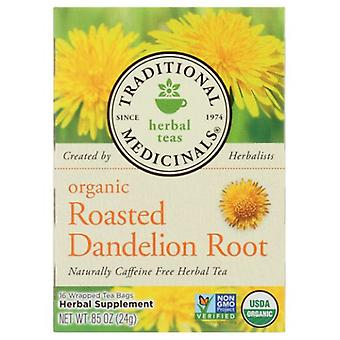 Traditional Medicinals Teas Organic Roasted Dandelion Root Tea, 16 Bags