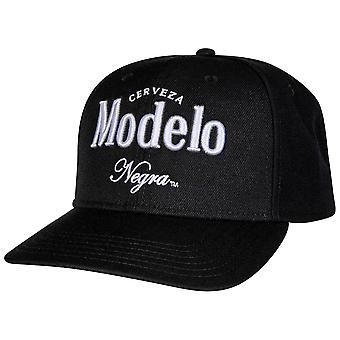 Negra Modelo Pre-Curved Verstelbare Snapback Hat