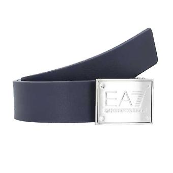 EA7 Emporio Armani Train Core ID U Plate Belt - Blu Navy/Urban Chic