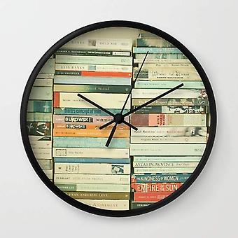 Bookworm Wall Clock