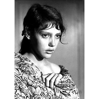Au Hasard Валтасар Энн Wiazemsky 1966 фото печать