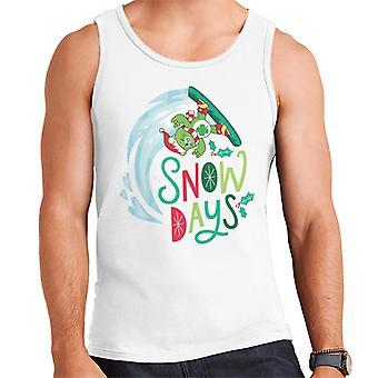 Care Bears Unlock The Magic Christmas Snow Days Men's Vest