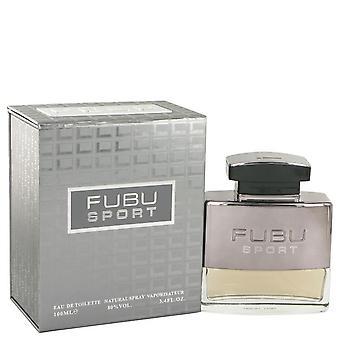 Fubu sport eau de toilette spray by fubu 516172 100 ml