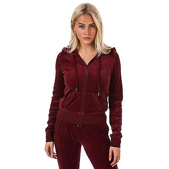 Puma fenty womens port fitted velour track jacket