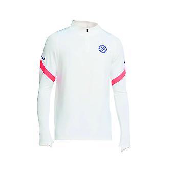 2020-2021 Chelsea CL Poraharjoittelun yläosa (valkoinen)
