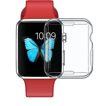 Silikon Cover Case Apple Watch Series All-around Ultra-tunn Klar