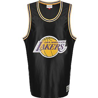 Mitchell & Ness LA Lakers Mens Vintage Dazzle Tank Jersey NBA Vest MSTKDF18015LA