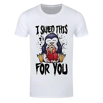 Psycho Penguin Hombres I Saved This For You Camiseta