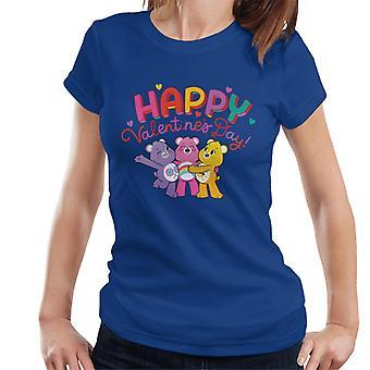 Care Bears Unlock The Magic Happy Valentines Day Women's T-Shirt
