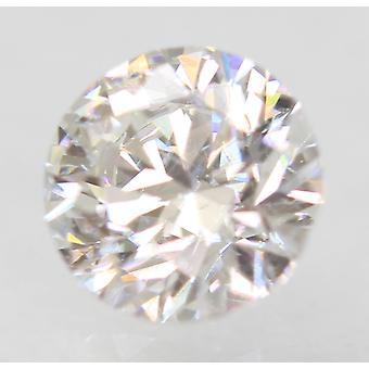 Sertifioitu 0,47 karat D VVS2 pyöreä loistava parannettu luonnollinen löysä timantti 4,9 mm
