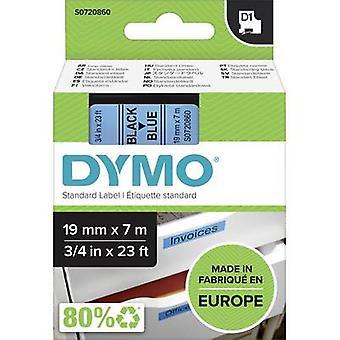 Merkintöjä nauha DYMO D1 45806 nauhan väri: vaaleansininen fontin väri: musta 19 mm 7 m