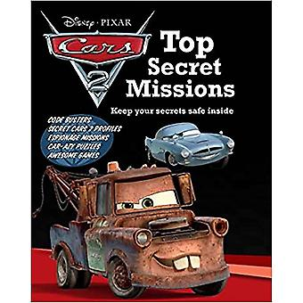 Disney Cars 2 Top Secret Missions Hardcover
