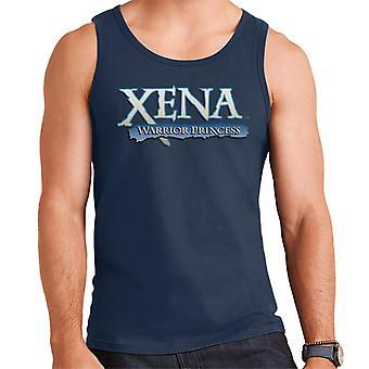 Xena Warrior Princess Blue Logo Men's Vest