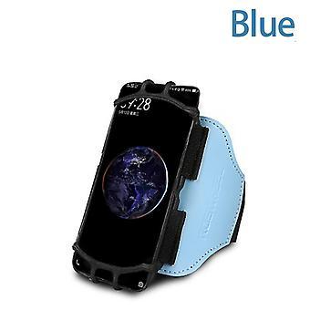 Obrotowy silikonowy pasek, telefon komórkowy do biegania, sporty na świeżym powietrzu, torby na opaski na ramię