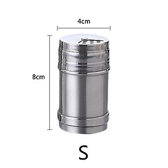 Spice Jar Rotating Cover Salt Sugar Bottle Multi-purpose Spice Pepper Shaker
