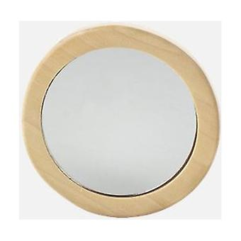 Wooden bag mirror 1 unit