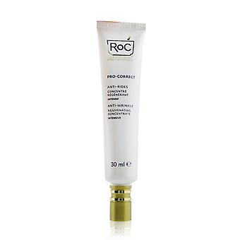 Pro correct ant wrinkle rejuvenating intensive concentrate ro c retinol with hyaluronic acid 260278 30ml/1oz