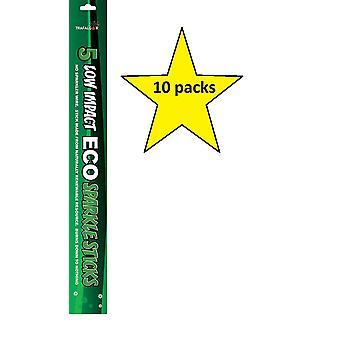 Trafalgar 36cm Sparkle Sticks 10 Packs Supplied (50 Sparkle Sticks)