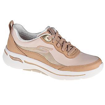 Skechers GO Walk Arch Fit Golden Era 124488TAN universal all year women shoes