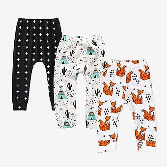 3 Pieces/lot Baby Soft Cotton Pp Pants