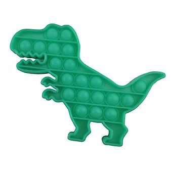 Fidget Toy Pop It Toy Stress Relax Green Dinosaur T-Rex