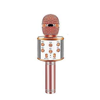 Fgclsy ws 858 micrófono inalámbrico condensador profesional condensador karaoke micrófono grabación de estudio de radio para reproductor de música cantando ws858