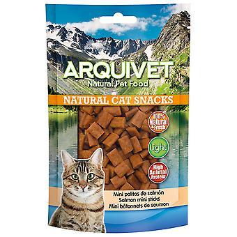 Arquivet Cat Snack Mini Salmon Sticks (Cats , Treats , Lighter Options)