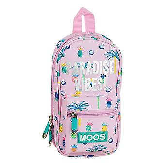 Backpack Pencil Case Moos Paradise (33 Pieces)