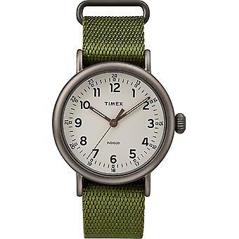 Timex Standard Green Fabric Mens Watch TW2T20300