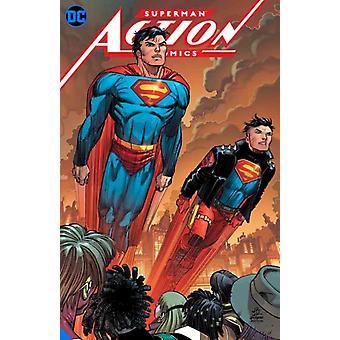 Superman Action Comics Vol. 4 Metropolis Burning by Brian Michael BendisJohn Romita Jr.