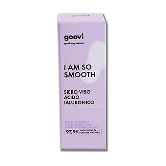 L am so smooth hyaluronic acid face serum 30 ml de serum
