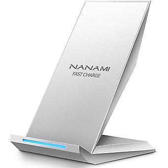 HanFei Fast Wireless Ladegerät, Qi Ladegert fr iPhone 12/11/XS/XS Max/XR/X/ 8/8 Plus, kabelloses