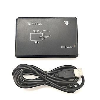125khz 13.56mhz Rfid Reader Usb Proximity Sensor Smart Card Reader