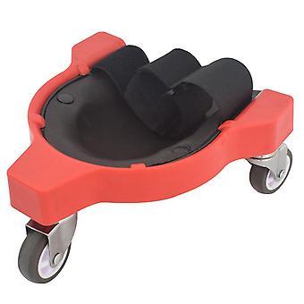 Rolling Knee Protection Pad mit Rad eingebaut in Schaum gepolstert