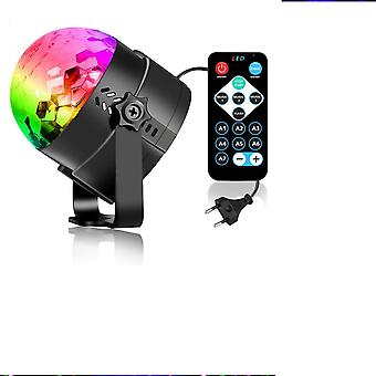 Disco Light With Voice Activated And Remote Control