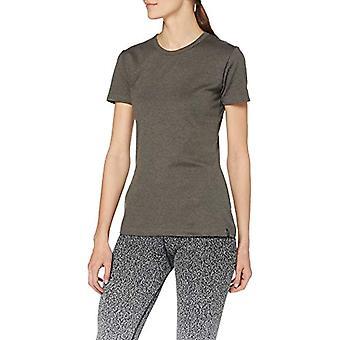 Trigema 502201 T-Shirt, Beige (Taupe/Melange 628), Stor kvinna