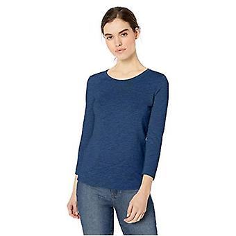 Marca - Daily Ritual Women's Lightweight Lived-In Cotton 3/4-sleeve T-Shirt