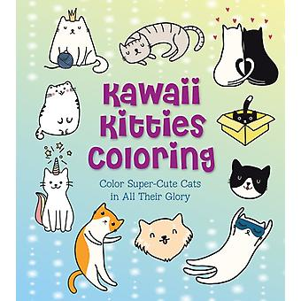 Kawaii Kitties Coloring by Editors of Chartwell Books