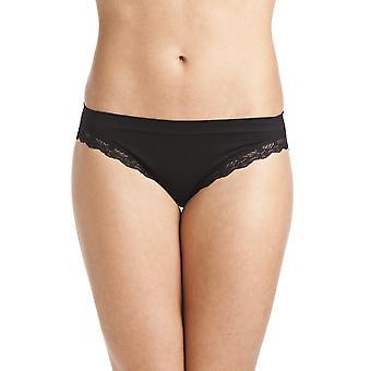 Camille Womens To Pack Black Seam Gratis Soft Comfort Midi Trusser