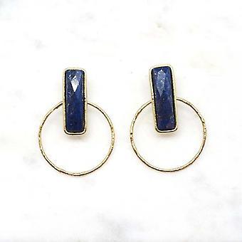 Boucles d?oreilles Niiki Paris - NCE054LP - Bleu - Collection Colors