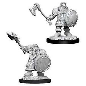 Donjons et Dragons Marvelous Unpainted Miniatures (W11) Chasseur nain mâle de Nolzur