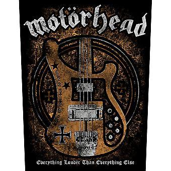 Motorhead - Lemmy's Bass Back Patch