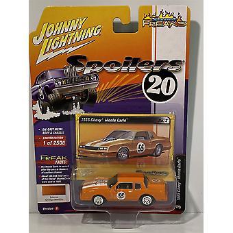 1985 Chevy Monte Carlo Intense Orange Metallic Johnny Lightning 1:64 JLSP018B