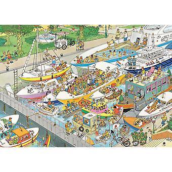 Jan Van Haasteren The Locks Jigsaw Puzzle (1000 Pieces)