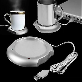 Usb Insulation Coaster Heater Heat Insulation Coffee Cup Mug Mat Pad Coaster